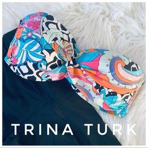 TRINA TURK strapless swimsuit top